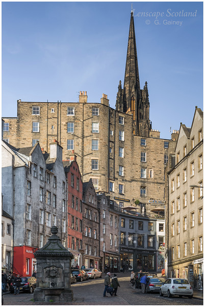 West Bow from Grassmarket