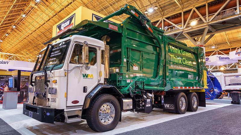 Waste Management Peterbilt 320 Heil Freedom Front Loader
