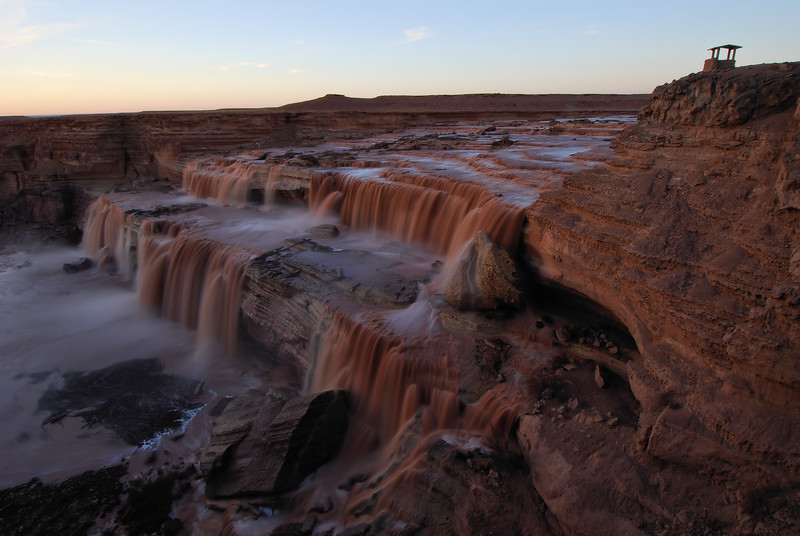(2008 March 18-21) Corona Arch, Grand Falls, Horse Creek Canyon.  Moab, Navajo Nation, Canyonlands National Park, Utah and Arizona.