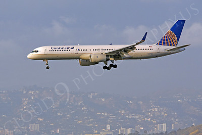 Continental Airline Boeing 757 Airliner Pictures