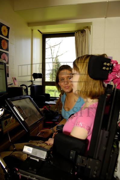 034497 Disability Services Emily & Sarah Dorm 4-4-06
