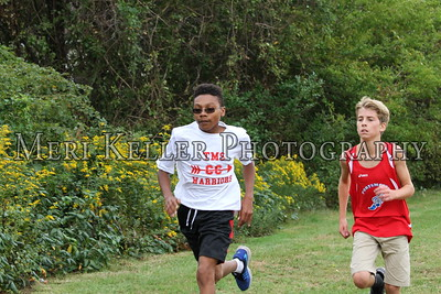 Gaudet, Thompsen, and Portsmouth Middle School Cross Country 2016