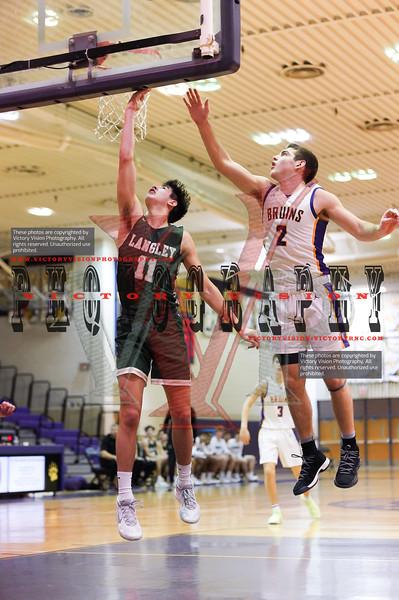 Langley @ Lake Braddock Boys Varsity Basketball 12-28-19 | Glory Days Grill