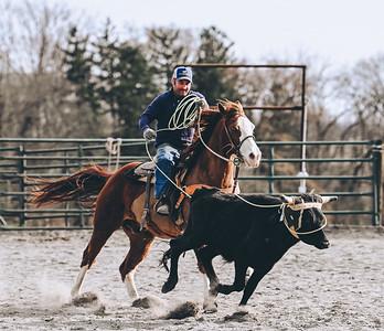 Willow Brook Team Roping Practice 4/3/21