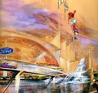 Ford ''Magic Skyway''' 1964 new York and I was there