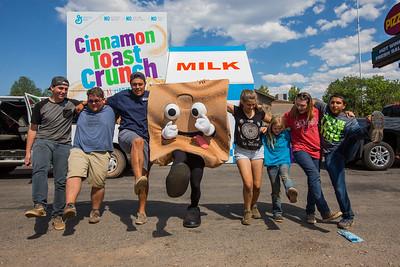Cinnamon Toast Crunch Pop Up Grand Canyon