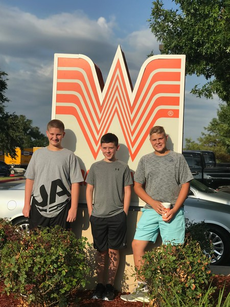 Jax, Graydon and Brock | 8th grade | Henry Middle School