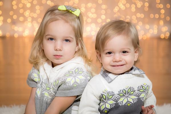 Briella & Jack Xmas 14