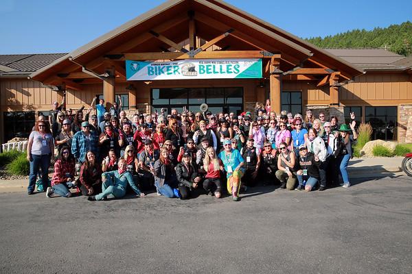 2021 Biker Belles Group Photo