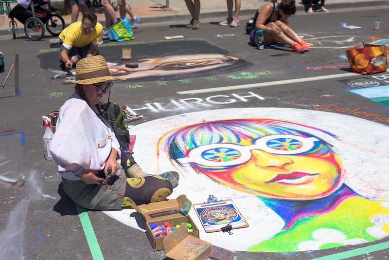 Denver Chalk Art Festival 2018