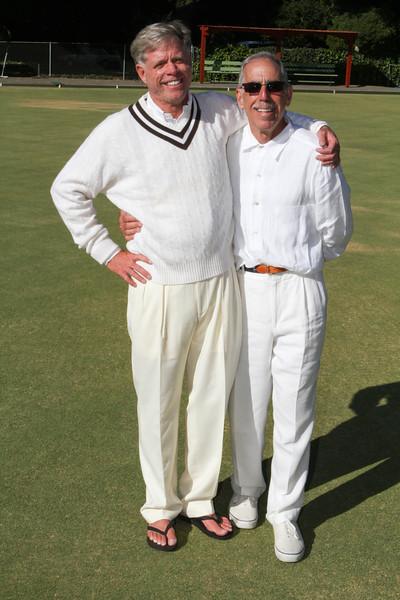 DAASV President, James von Rittmann '95, and Alan Gaynor '67, dressed for success.