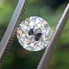 1.10ct Old Mine Cut Diamond, GIA J VVS2 1