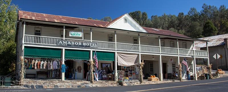 Hotel Amador in Amador City