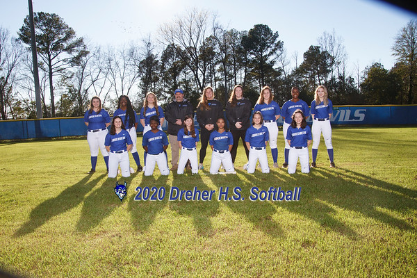 2020 Varsity Softball