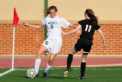 2008 - 2009 Wesleyan Girls Soccer vs. Alpharetta