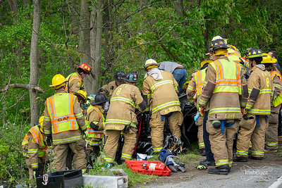 W Lincoln Hwy - Accident w/ Entrapment - West Sadsbury