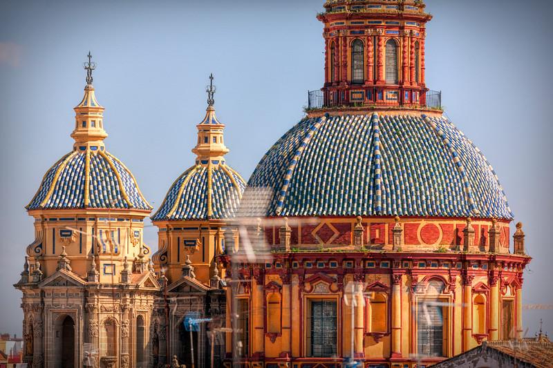 Dome of San Luis de los Franceses church, Seville, Spain