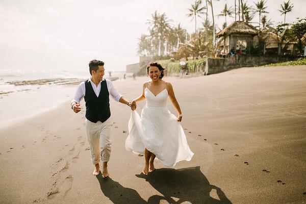 Perry & Sarita in Bali