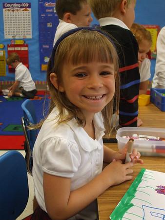 Kindergarten Triangles 2009-2010