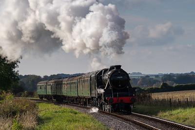 Mid-Hants Railway Steam Gala: October 2016.