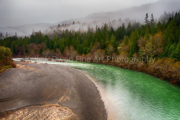 Emerald Eel River, Northern California