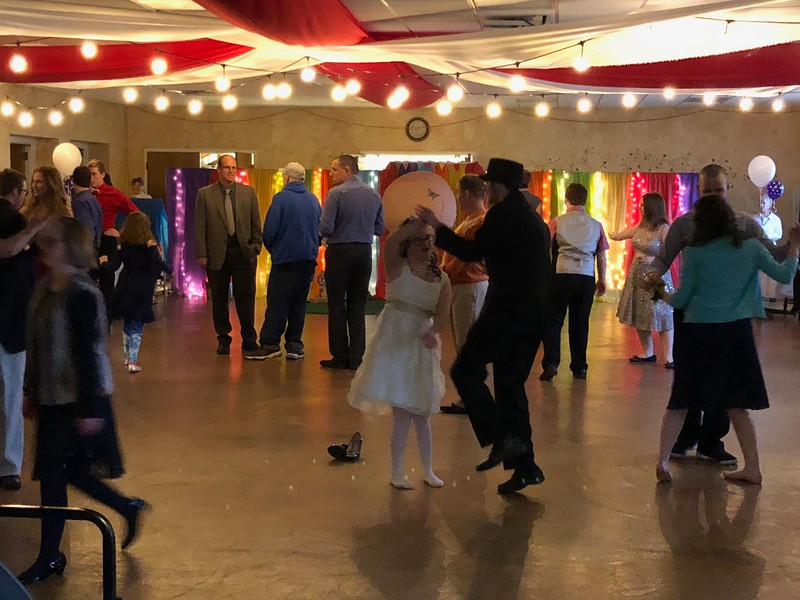 As guests arrive the dance floor at the Lake Orion United Methodist Church's Special Needs Prom. Stephen Frye / Digital First Media.