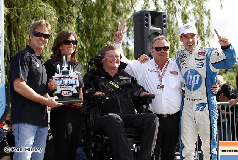 June 2: Winners during the Chevrolet Detroit Belle Isle Grand Prix.