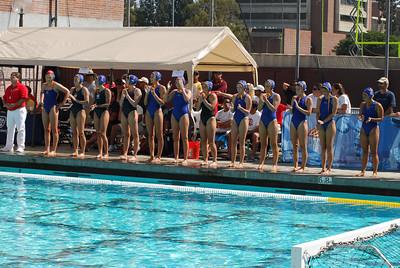 S & R Sport Junior Olympics 2010 - Platinum Division 18U Girls Third Place Game - Santa Barbara Water Polo Club vs Nor Cal 8/8/10. Final score 8 to 7. SBWPC vs NCWPC. Photos by Allen Lorentzen.