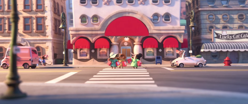 Easter Eggs for FROZEN and BIG HERO 6 in new clip for ZOOTOPIA, 'Have a Donut'