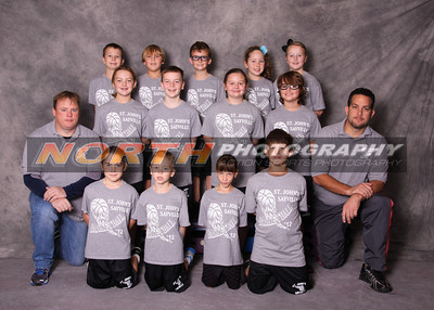 St. Johns CYO Basketball Team Photos