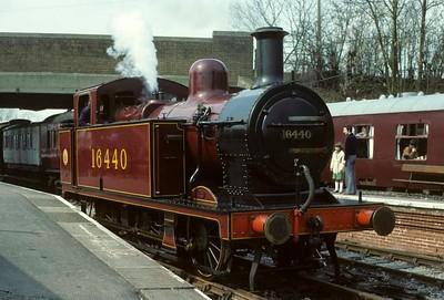 Midland Railway Centre, 1980