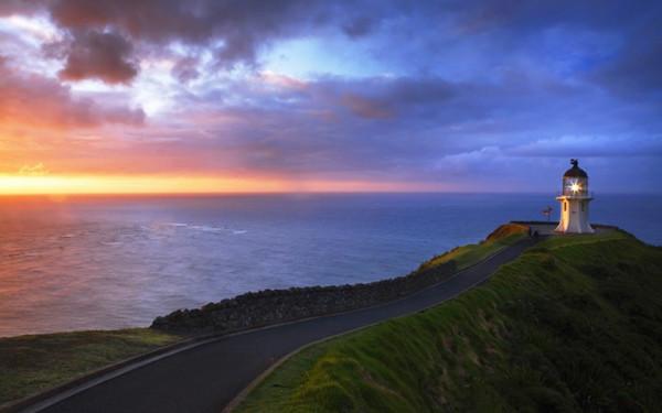 Cape Reinga Lighthouse, Aupori Peninsula, North Island, New Zealand