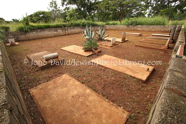 ZAMBIA, Lusaka. Leopard Hill Jewish Cemetery (2.2013)