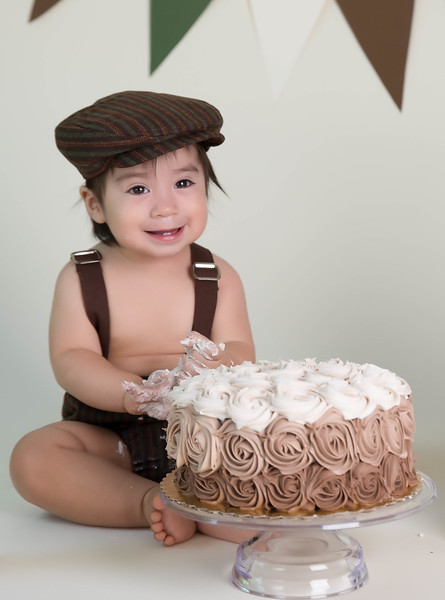 Joaquin's 1st Birthday Session - May 2016