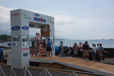 2009- Ironman Worlds Kona (Bike Check)