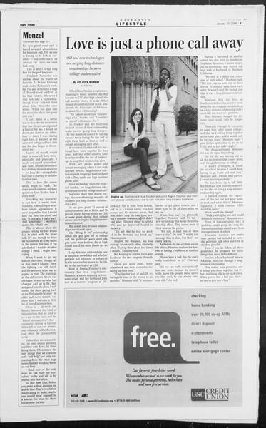 Daily Trojan, Vol. 157, No. 1, January 10, 2006