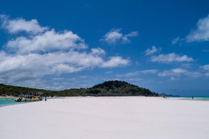 North of Whitehaven Beach