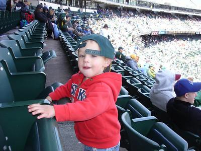 Daddy's Baseball Birthday