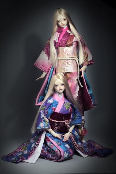 Kimono by  GGDollFashions  for BiDoLL