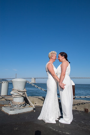 Lacey & Lynne's Hornblower Wedding