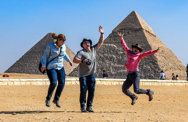 02-05-20 Egypt Day4  Giza Plateau Sphinx Pyramids
