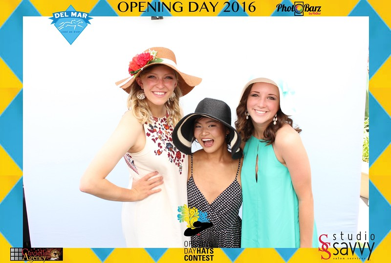 Del Mar Races Opening Day 2016