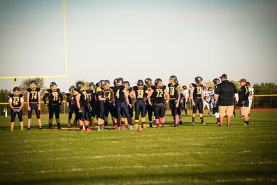 Varsity Football VS Lyons