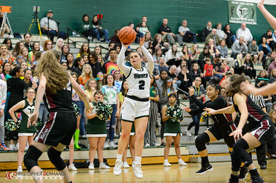 Tigard High School Girls Varsity Basketball vs Tualatin
