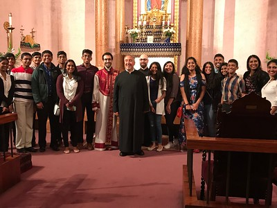 Cathedral Welcomes Syrian Orthodox Students (Sep. 9, 2018)