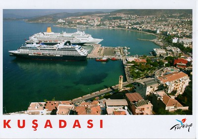 Kusadasi - Turkey With Ships