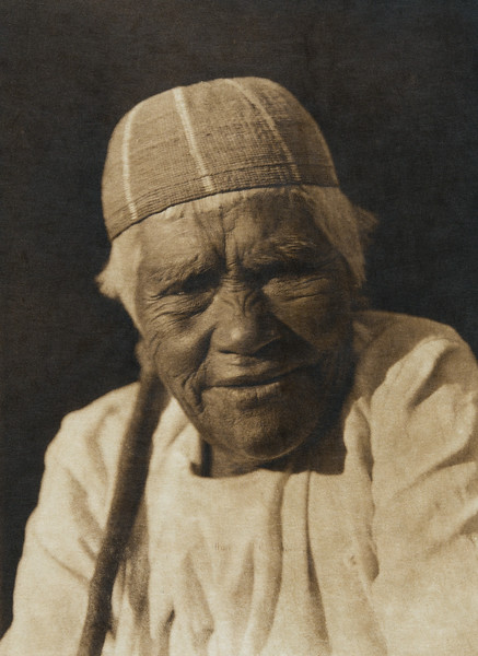 A Yurok widow (The North American Indian, v. XIII. Norwood, MA, The Plimpton Press,  1924)