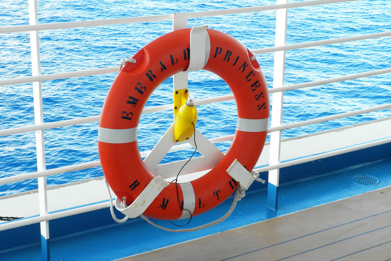 """Don't forget to yell """"Man Overboard."""""""