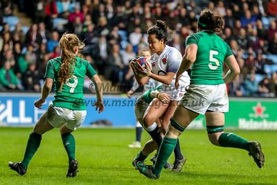 Six Nations Womerns England vs Ireland 16-03-2018
