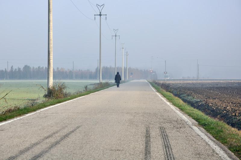 Via Caselle - Nonantola, Modena, Italy - November 18, 2011